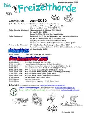 Hordenbrief 12-2015