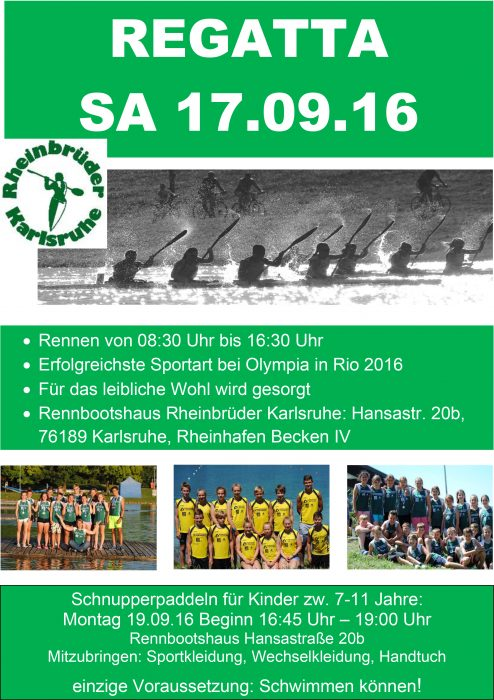 Regatta Flyer 2016